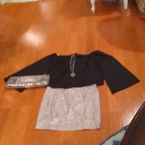Guess Top & Guess skirt
